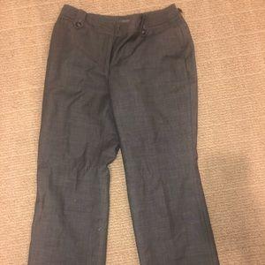 Grey work pants